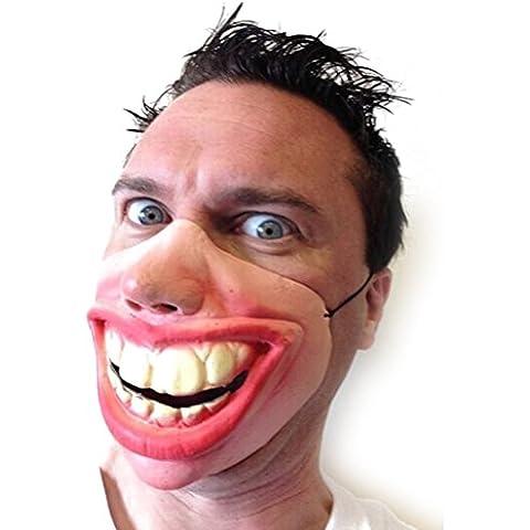 PIXNOR Máscara de película disfraces mascarada dientes grandes