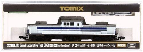 TOMIX N jauge 2290 & amp; lt; limité & amp; gt; DD51-1000 (1037 Unité Euro doublure couleur)