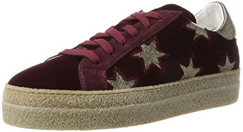 Stokton Sneaker, Sneakers Basses Femme Rouge (Bordeaux)