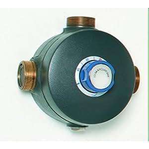 Mitigeur thermostatique collectif THERMERAM IV modèle 280 50x60 nu sans raccords Réf H8567NU
