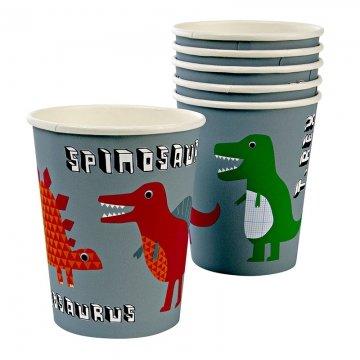 Dinosaur Roarrrr Party Cups - Pack of 8