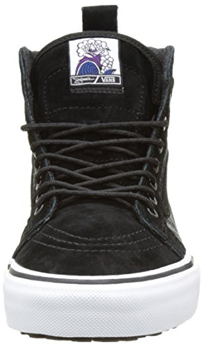 Vans Unisex-Erwachsene SK8-Hi Mte High-Top Schwarz ((Jamie Lynn) black/black/white)