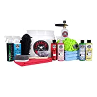 Chemical Guys HOL169 16-Piece Arsenal Builder Wash Kit with Torq Foam Cannon, Bucket and (6) 16 Oz Care Products (Gift for Car & Truck Lovers, Dads and DIYers)