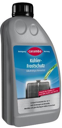Caramba 69609801 Kühlerfrostschutz 1 Liter - Silikathaltig (entspr. VW G11, Farbe: grün) -