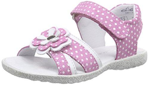 Richter Kinderschuhe Sissi, Sandales ouvertes fille Rose - Pink (lollypop/panna  3701)