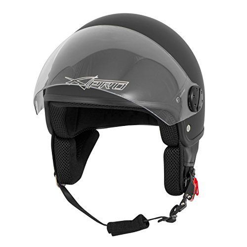 Zoom IMG-2 casco jet demi scooter moto