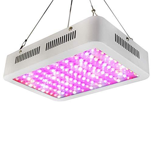 Lampe F uuml r Pflanzen 600W Dimmbare LED Pflanzen Gartenbau Vollspektum Light Channel F uuml r Indoor Hydroponic Gewächshaus Grow Box Flower