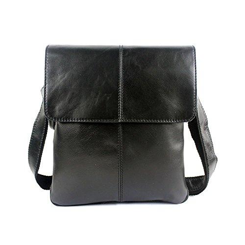 Stepack Marken-echtes Leder-Handtasche Fashion Messenger Bag Umhängetasche für Männer (Kuh-leder-beutel)