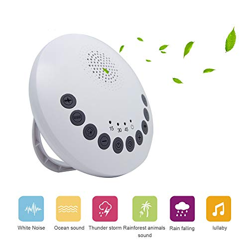 Sleep White Noise Machine 6 Terapia Relajante De Sonidos