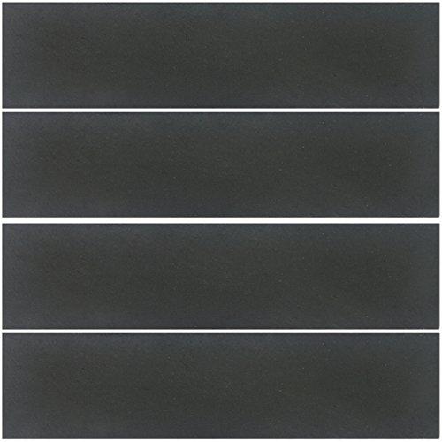 Promobo - Lot De 4 Plat De Présentation Assiette En Ardoise Apéro 30 x 10cm