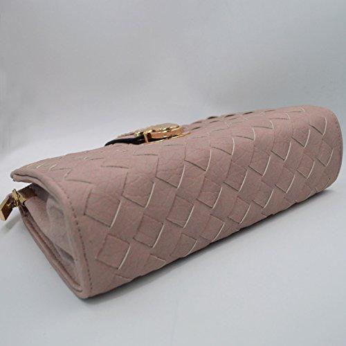 LA HAUTE, Borsa a spalla donna grigio Grey Pink