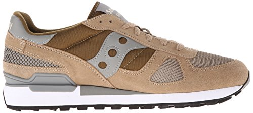 Saucony Shadow Original, Sneakers basses homme Vert (Taupe/Green)