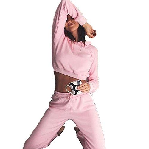 MQ Boutique -  Tuta da ginnastica  - Donna Pink