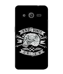 PrintVisa Designer Back Case Cover for Samsung Galaxy Core 2 G355H :: Samsung Galaxy Core Ii :: Samsung Galaxy Core 2 Dual (Love Lovely Attitude Men Man Manly)