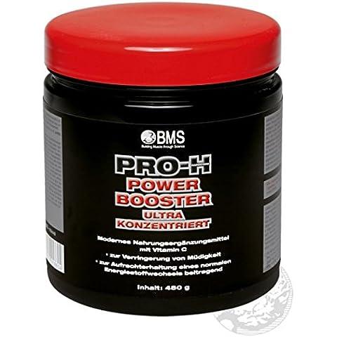 BMS Pro de H Power Booster sangre naranja, 1er Pack (1x 480g)