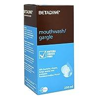 BETADINE Antiseptic Gargle Mouthwash 250ml (BUY ONE AND GET ONE FREE )