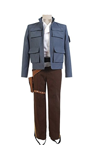 Kostüm Empire Back Solo Han Strikes - FUMAN Karneval Empire Strikes Back Han Solo Jacke Cosplay Kostüm S