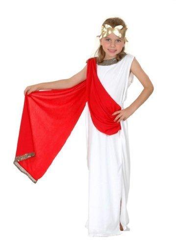 Mädchen griechisch / römischen Göttin Kostüm Alter 10-11