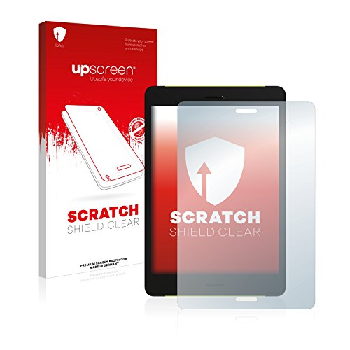 upscreen Scratch Shield Schutzfolie kompatibel mit Pocketbook Surfpad 4 M - Kristallklar, Kratzschutz, Anti-Fingerprint