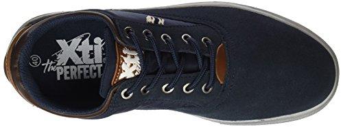 Xti 047082, Calzado Deportivo Azul Para Hombre (azul Marino)