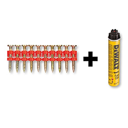 DeWALT C5-XH Nägel 22 mm und 1x Gaskartusche, 800 Stück, DDF6310100