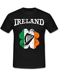 Spreadshirt Ireland Vintage Shamrock Men's T-Shirt
