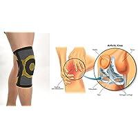 Neue Elastische Knie Medical Sleeve mit 2-bilateral flexibel bleibt für zusätzliche Kompression & Schutz–Patella... preisvergleich bei billige-tabletten.eu
