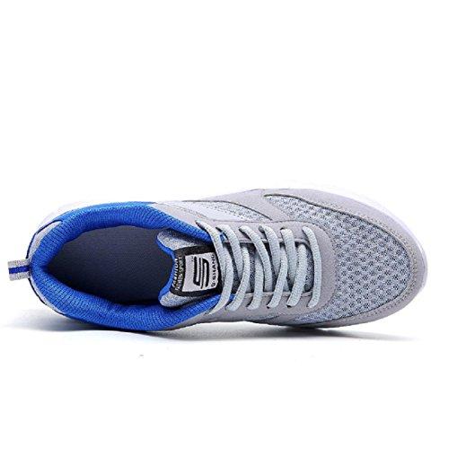 Herren Sportschuhe Das neue Mode Laufschuhe Ausbilder Atmungsaktiv Draussen Turnschuhe Grey