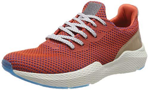 bugatti Herren 341730606900 Slip On Sneaker, Orange (Orange 3300), 43 EU Orange Slip On
