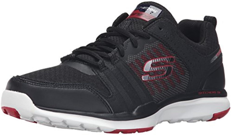 Skechers Herren Quick Shift Tr Low TopSkechers Herren Quick Sneakers Schwarz Billig und erschwinglich Im Verkauf