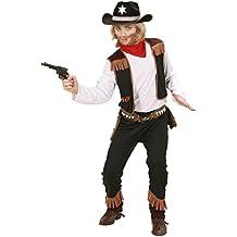 Widmann 02596 - Costume da cowboy per bambini (Taglia 128 cm) 12bdf047f88e