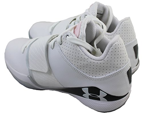 Under Armour Micro G Bloodline Basketball Chaussure blanc/noir/rouge