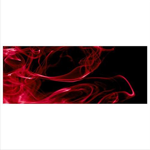 gsmarkt   Abstrakt Echtglas Premium Panorama Glasbilder Glasbild Echtglas Wandbild Deko Deco Glass 125x50 xxl