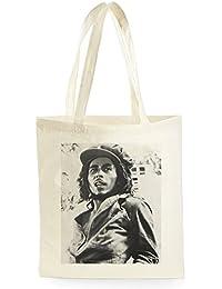 Bob Marley Poster, Bolsa de Compras para ir de Compras, Picnic, Almacenamiento en el Hogar y Escuela, tote bag
