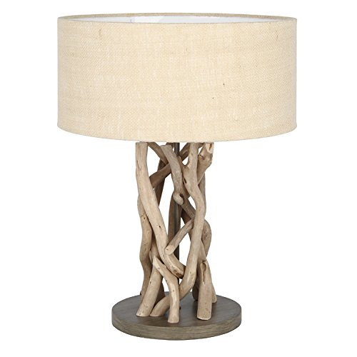Driftwood Natural Jute Table Lamp Complete