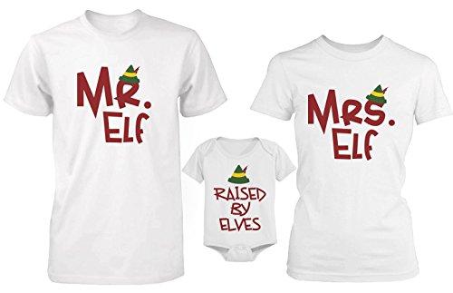 love Bonita Camiseta Familiar de Elves y Camisetas de la Familia Onesi