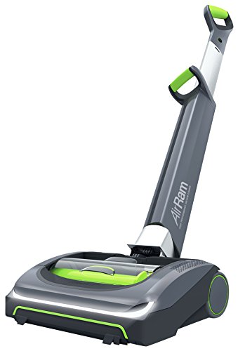 Gtech AirRam MK2 Cordless Vacuum Cleaner, 0.8 L, 22V, Grey/Green