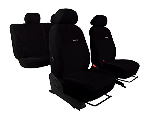 POK-TER-TUNING Sitzbezüge Design Elegance Passend für AMAROK. Schonbezüge,Super Qualität. in Diesem Angebot Schwarz (in 6 Farben Bei Anderen Angeboten erhältlich). - Auto Honda Insight Sitzbezüge