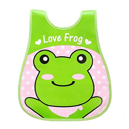 VJGOAL Hohe Qualität Cute Kid Infant Lätzchen Baby Soft Cartoon Lätzchen Wasserdichte Speichel Tropfende Lätzchen(E,One ()