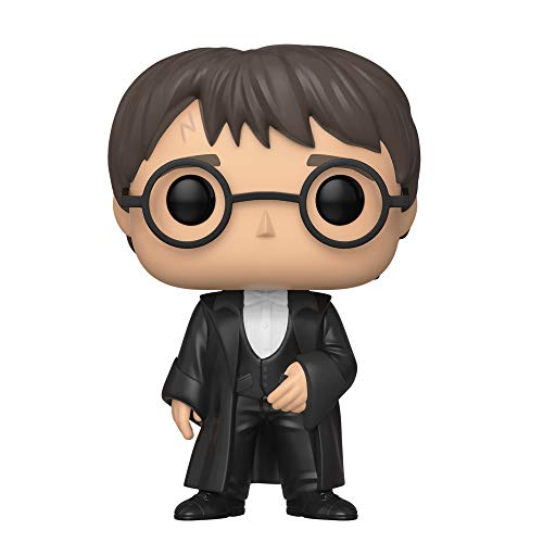 Funko- Pop Figura de Vinilo S7-Harry Potter (Yule) Coleccionable, (42608)