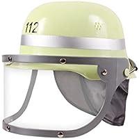 Alsino Casco da pompiere in plastica con visiera ribaltabile (KH-183)  taglia unica 678603ab7d22