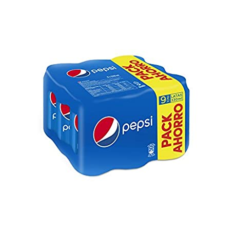 Pepsi Bebida Refrescante lata 33 cl Pack de 9