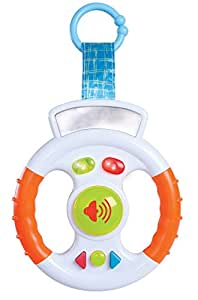 Volant jouet sonore et lumineux pour bébé