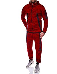 MT Styles ensemble pantalon de sport + sweat-Shirt jogging survêtement R-854