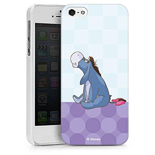 Apple iPhone X Silikon Hülle Case Schutzhülle Disney Winnie Puuh Eeyore Fanartikel Merchandise Hard Case weiß