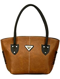 Ladies Shoulder Bags (Brown) Latest Fashionable PU Leather Fancy Stylish Handbag / Bag / Purse For Women / Shoulder...