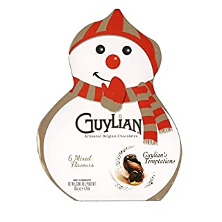 Guylian's Temptations Artisan Belgian Chocolates Weihnachten Schneemann Box