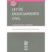 Ley de Enjuiciamiento Civil 29ª Edición 2016 (Textos Legales)