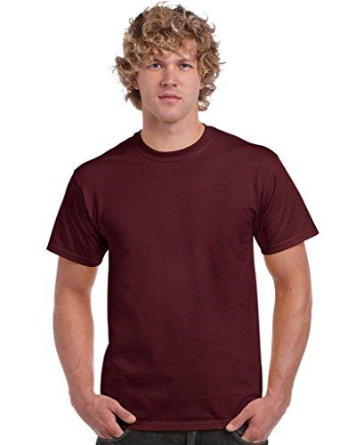 T-Shirt Ultra - Farbe: Maroon - Größe: M - Maroon Baumwolle Farbe