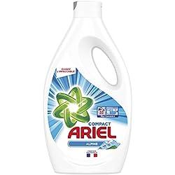 ARIEL Alpine Lessive Liquide 1,815 L 33Lavages - Lot de 2